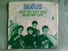 45  THE BEATLES  GOT TO GET YOU INTO MY LIFE---SLEEVE ONLY  *CAPITAL 4274*