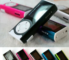 Mini Clip Mp3 Player FM Raudio Sport Musik Mp3 16GB USB MicroSD TF Einbauschlitz