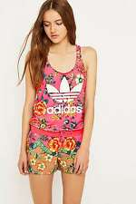 adidas Originals x Farm Jardineto Pink Playsuit Jumpsuit - UK10/EU36 - RRP £45