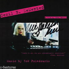 CECIL B. DEMENTED John Waters SOUNDTRACK CD Promo AUTOGRAPHED BY ZOE POLEDOURIS!