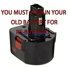 we Rebuild For Alemite 340911 12 Volt Battery YOU MUST SHIP US YOUR BATTERY