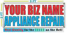 CUSTOM NAME APPLIANCE REPAIR Banner Sign NEW Larger Size Best Quality for the $$