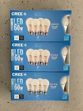 CREE 12-Pack LED A19 Light Bulbs 8.5W=60W Dimmable Daylight 5000K FREE SHIP!