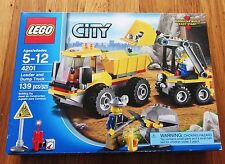 New Sealed Lego 4201 Pay Loader Dump Truck Tipper City Construction Mining Miner
