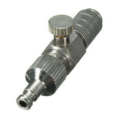 1/8 Inch Airbrush Air Hose Quick Release Adaptor With Micro Air Adjustment Conne