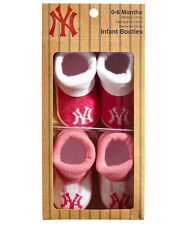 Majestic New York Yankees chaussons chaussette de bébé-Rose