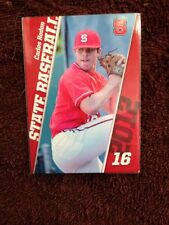 CARLOS RODON Very 1st Baseball Card Freshman Year NC State 2012 White Sox 1 pick