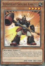 YU-GI-OH CARD: SUPERHEAVY SAMURAI KABUTO - MP15-EN132 - 1st EDITION