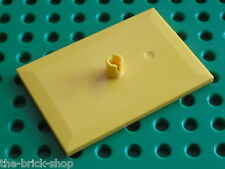 LEGO TRAIN Yellow Bogie Plate ref 4092 / Set 7939 7938 3677 ...