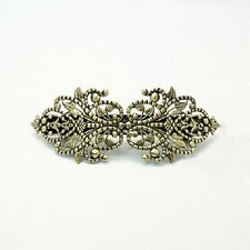 Hair Barrettes Hair Clips Barrette Blanks French Clip Blanks Antiqued Bronze