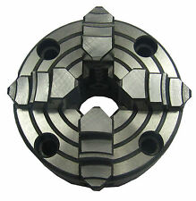 RDGTOOLS 80MM 4 JAW INDEPENDANT LATHE CHUCK / DIN QUALITY
