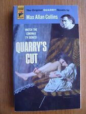Max Allan Collins Quarry's Cut 1st SC SIGNED by Collins & Robert McGinnis NEW