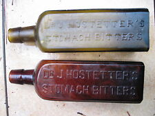BEAUTIFUL Yellow Amber Hostetter's BITTERS Bottle