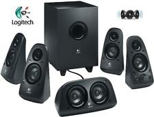 3x Logitech Z 506 5.1 Surround Sound 3D Stereo Lautsprecher mit Subwoofer DEFEKT