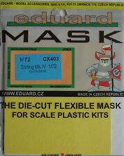 Eduard 1/72 CX403 Canopy Mask for the Italeri Short Stirling Mk IV kit