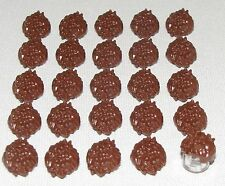 LEGO LOT OF 25 NEW REDDISH BROWN SPIKED HAIR KAI DX ZX NINJAGO MINIFIGURE SPIKY