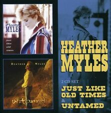 Heather Myles - Just Like Old Times / Untamed [New CD] UK - Import