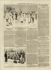 1892 Newmarket riunione primaverile FANTINI con un peso di Paddock tenendo tambi