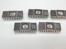 TI TMS2516JL-45 TMS2516 24 PIN CERAMIC DIP IC - YOU GET 5 PIECES