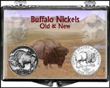 Buffalo Nickel Old & New 2006, 2X3 Snap Lock Coin Holders, 3 pack