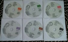 6 CDG DISCS KARAOKE KURRENTS (WHITE COVERS) LADY GAGA,KATY PERRY *2015 SALE*