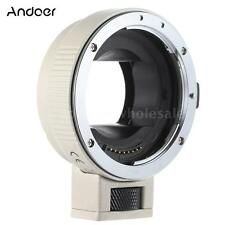 Auto Focus AF TTL Lens Adapter Ring for Canon EOS EF EF-S to SONY NEX E-Mount(W)