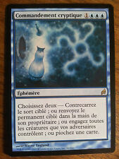 Cryptic Command Commandement cryptique NM lorwyn MTG french