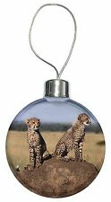 Cheetahs on Watch Christmas Tree Bauble Decoration Gift, AT-25CB