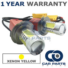 2X CANBUS YELLOW H7 CREE LED MAIN BEAM BULBS FOR VW GOLF PASSAT SCIROCCO TIGUAN