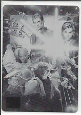 STAR WARS GALAXY SERIES 6 PRINTING PLATE 1 OF 1 BLACK