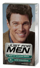 Just FOR MEN cura-TINTA-Shampoo (tonalità SHAMPOO) Nero Marrone 60ml