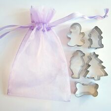 Christmas Mini Doggie Five Piece Value Cookie Cutter Set - FREE SHIPPING