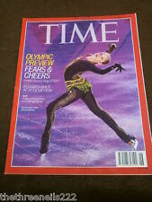 TIME MAGAZINE - OLYMPIC PREVIEW - FEB 10 2014