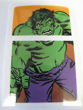Windproof  Fliptop Lighter  -Sticker Decal   [ The HULK ]