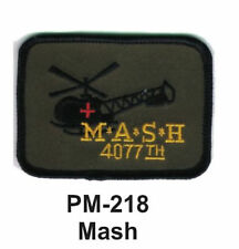 """3"""" MASH Embroidered Military- Patch"""