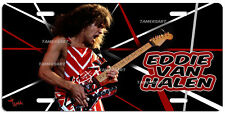 EDDIE VAN HALEN ART LICENSE PLATE