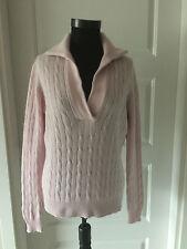 PETER HAHN Damen Pullover ,Cable Knit gr.44,100%  Kaschmir