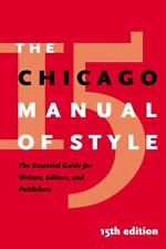 The Chicago Manual of Style  (NoDust)