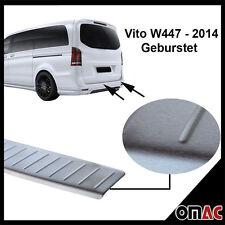 Mercedes Vito V-Klasse W447 Ladekantenschutz V2A Edelstahl Gebürstet