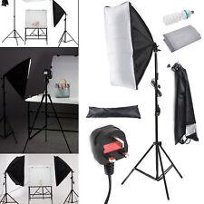 photography lighting kit socket softbox studio light with 4 bulbs