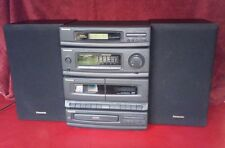 Vintage Panasonic SA-DH30 CD Player/Dual Cassette Deck/AM FM Radio Stereo