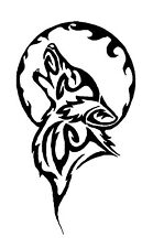 Wolf Tribal Vinyl Graphic Decal Car Window Sticker