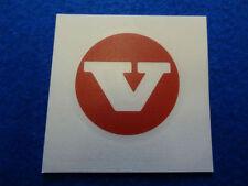 VOLVO classique centre rouge bouchon de moyeu decal sticker