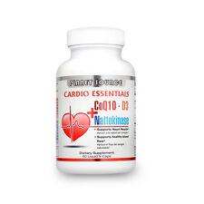 Cardio Essentials (C0q10, Nattokinase & Vitamin D3) 60 Liquid V-Caps