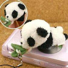Happy Meal! Plush Soft Stuffed Cell Phone Strap Charm (Panda)