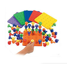 Pegs + Peg board therapy sensory Autism Special needs manipulative therapy