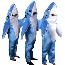 Animal Whale Shark Mascot Costume Material Fancy Cosplay Adult Jumpsuit Outfit