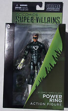 "DC COMICS SUPER VILLAINS POWER RING ACTION FIGURE ""FOREVER EVIL"" CRIME SYNDICATE"