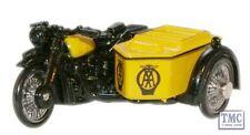 76BSA001 Oxford Diecast AA BSA Motorcycle and Sidecar 1/76 Scale OO Gauge
