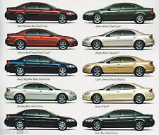 2002 Dodge STRATUS Sedan Brochure / Catalog; SE,PLUS,ES,R/T
